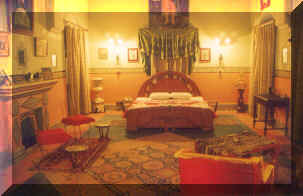 room of hotel bhairon vilas